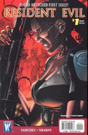 Resident Evil #1 Video Game Art Retail Variant (2009) DC Wildstorm comic book